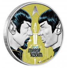 2017 1oz Silver Proof Coin Star Trek: The Original Series - Mirror, Mirror - Spock