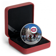 1/2 oz. Pure Silver Coloured Coin – Passion to Play: Montreal Canadiens® (2017)