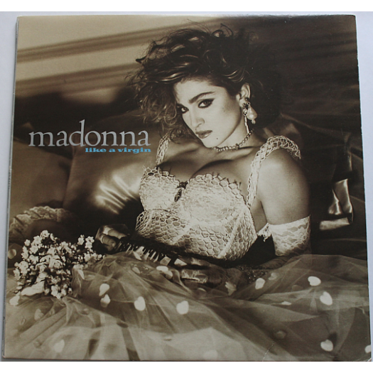Madonna  - Like a virgin   1984 LP Record - Sire Records Company - 92 51571