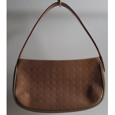 Arcadia - Shoulder Bag -  Brown Sugar Genuine Leather - Made in Italy - Pre-owned