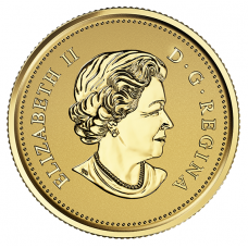 Pure Gold Coin – A Celebration of Her Majesty's 90th Birthday – Mintage: 125 (2016) No. 153490