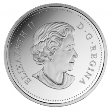 1 oz. Pure Silver Coloured Coin - Canada's Coast: Atlantic Coast - Mintage: 7,500 (2017)