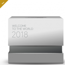 2018 Baby Gift - Welcome to the World Silver Coin No. 163154