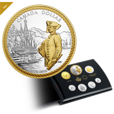 2018 Pure Silver Proof Set - 240th Anniversary of Captain Cook at Nootka Sound No. 164786