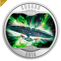Star Trek™: The Next Generation - Pure Silver Coloured Coin (2018)