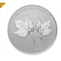 1/2 OZ. THE MAPLE LEAF COIN 2018