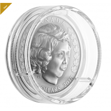 1 oz. Pure Silver Coin - Her Majesty Queen Elizabeth II The Young Princess - Mintage 4,500 (2018) No. 165838