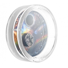 1 oz. Pure Silver Coloured Coin with Meteorite - 150th Anniversary of the Royal Astronomical Society of Canada- Mintage: 5,500 (2018) No. 167044