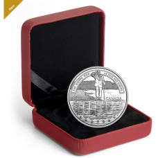 2018 $20 FINE SILVER COIN A NATION'S METTLE: THE DIEPPE RAID No. 168084
