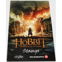 Self-adhesive Strip of Ten Stamps - The Hobbit: The Battle of the Five Armies 2014