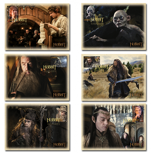 Set of Maximum Cards - The Hobbit: An Unexpected Journey   2012