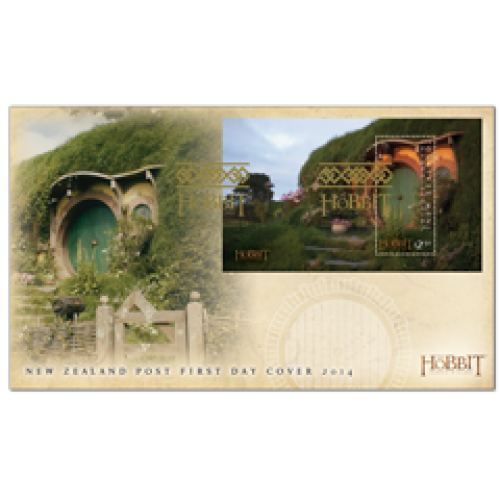 Set of Miniature Sheet First Day Covers - The Hobbit: The Battle of the Five Armies