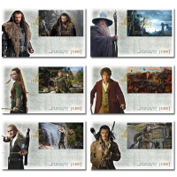 Set of Miniature Sheet First Day Covers - The Hobbit: The Desolation of Smaug  2013