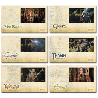Set of Miniature Sheet First Day Covers- The Hobbit An Unexpected Journey 2012 New Zealand