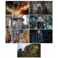 Set of Miniature Sheets - The Hobbit The Battle of the Five Armies - New Zealand 2014